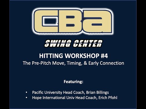 Swing Center Workshop #4 | Pre-Pitch Timing & Connection