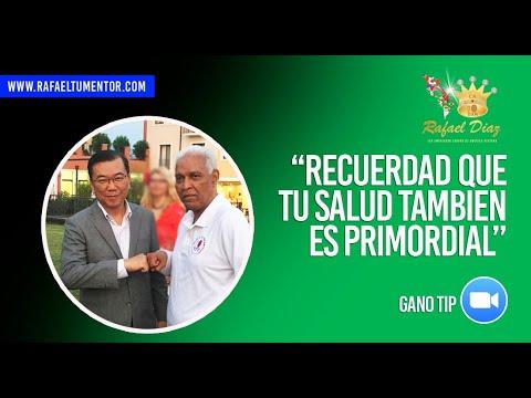 Gano tips con Rafael Diaz Embajador Corona DXN