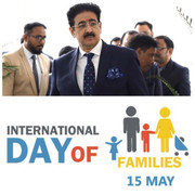 Sandeep Marwah Congratulated All on International Day of Families