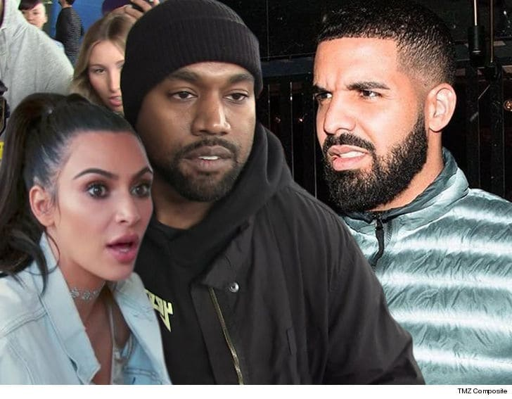 Kanye West Unleashes Twitter Rant War Against Drake