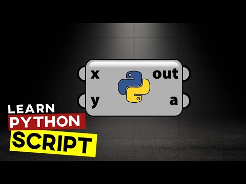 Grasshopper Python Tutorial (Introduction)