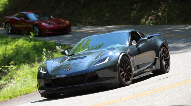 Corvettes on the Tail of the Dragon