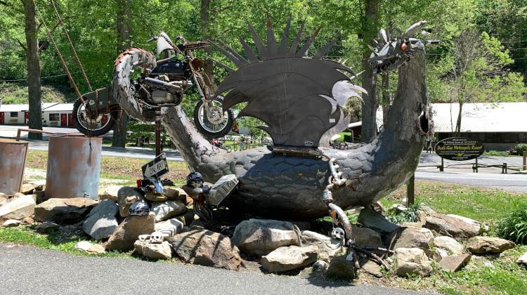 The Dragon at Tail of the Dragon