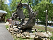 Side view of the Dragon at Tail of the Dragon