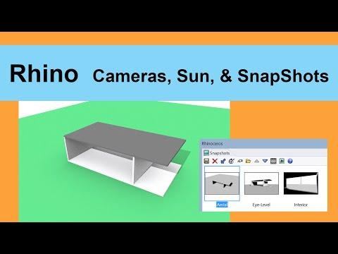 Rhino Cameras, Sun, & Snapshots