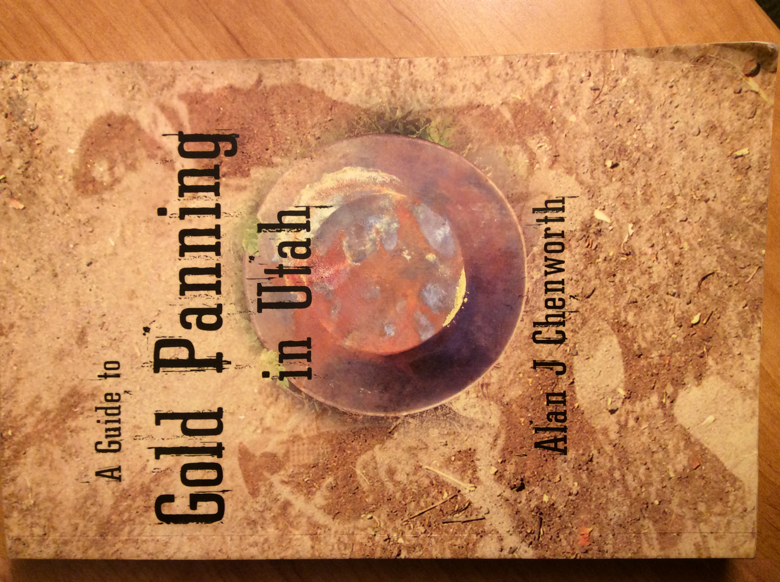 "Giveaway Book ""A Guide to Gold Panning in Utah"" first edition."