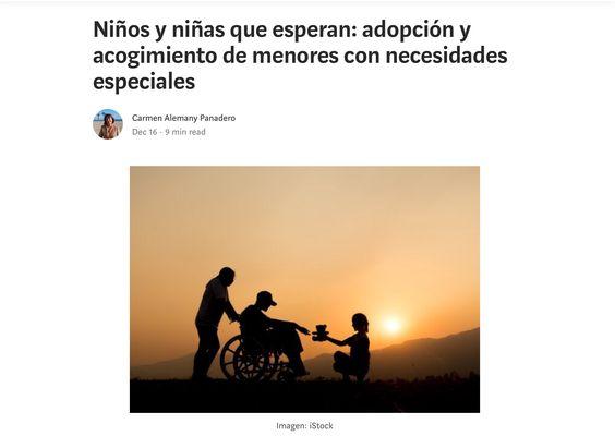 Adopción de menores con NEE
