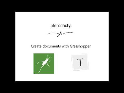 Introduction to Pterodactyl for Grasshopper