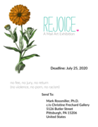 REJOICE: A Mail Art Exhibition