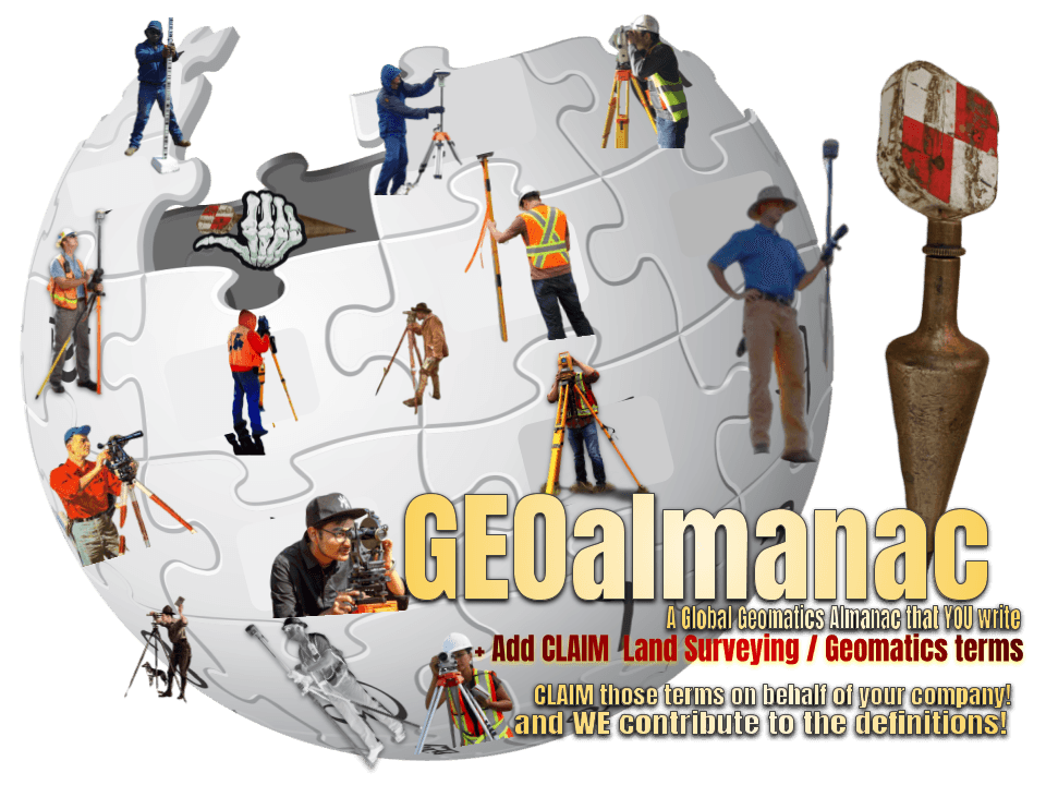 Crowdsourced Land Surveyors Dictionary