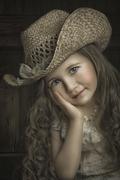 Little cowboy girl
