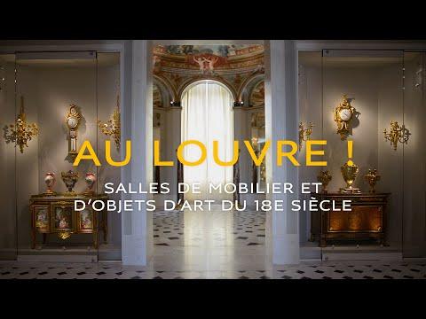 Au Louvre ! Les salles de mobilier et d'objets d'art du XVIIIème siècle