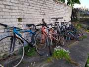 Pop-up bike donation drop-off for The Bike Project - bring your old bikes!
