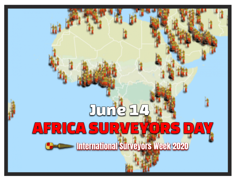 African Surveyors Day June 14th #ISW2020