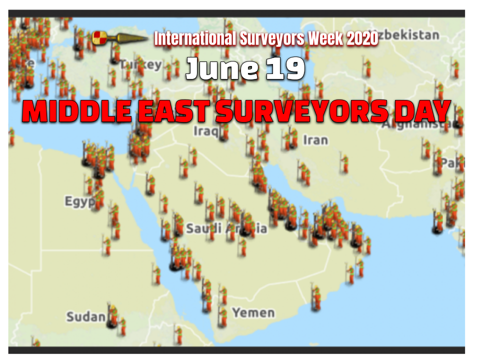 Middle East Surveyors Day June 19th #ISW2020