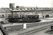 Train Turntable at Hornsey Station c1960
