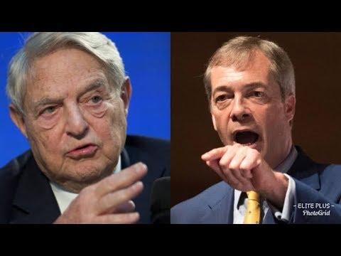 """""""ARREST HIM"""" Nigel Farage LOSES HIS TEMPER On George Soros over political crimes"""