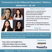 """Coronavirus and the Millennial Generation"" Webinar"