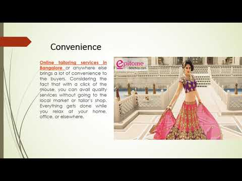 Benefits of Online Tailoring Services