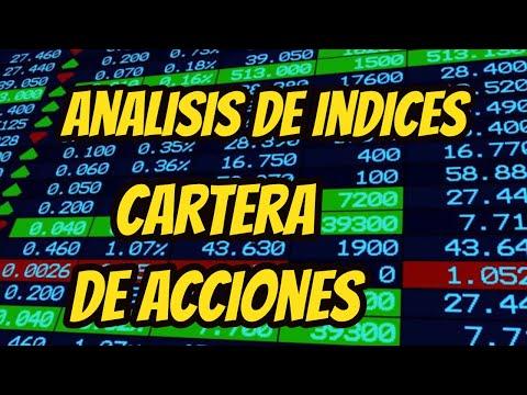 Analisis INDICES y CARTERA DE ACCIONES