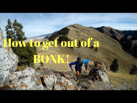 How to get out of a BONK when RUNNING and RACING. (+ Arc'teryx Norvan SL shoes)