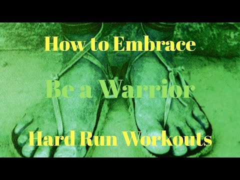 Be a Warrior: How to Embrace Hard RUN Workouts (@DYNAFIT Feline Up Pro shoes)