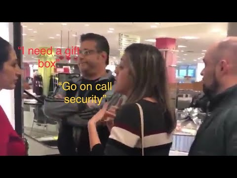 Man harasses department store employee for speaking Arabic: 'Go back to where you came from'