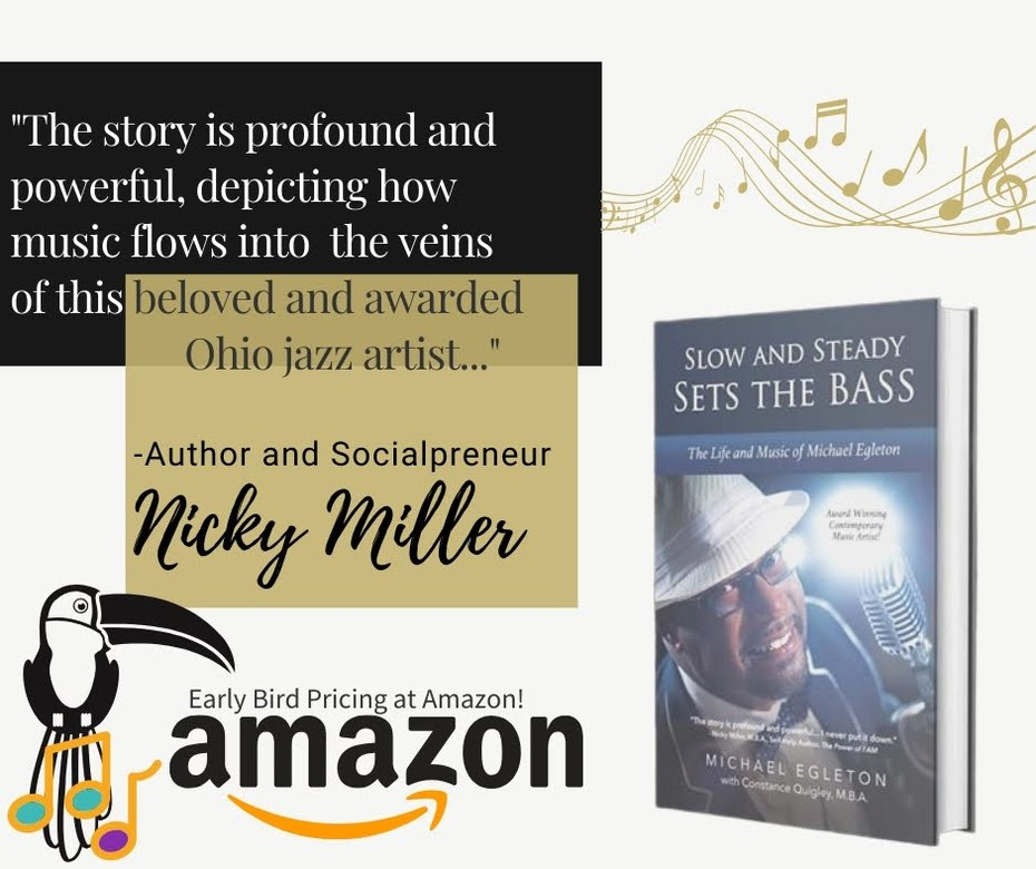 Cover Art New Autobiography, Slow and Steady Sets the Bass, The Life and Music of Michael Egleton
