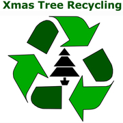 Christmas Tree Recycling in Harringay