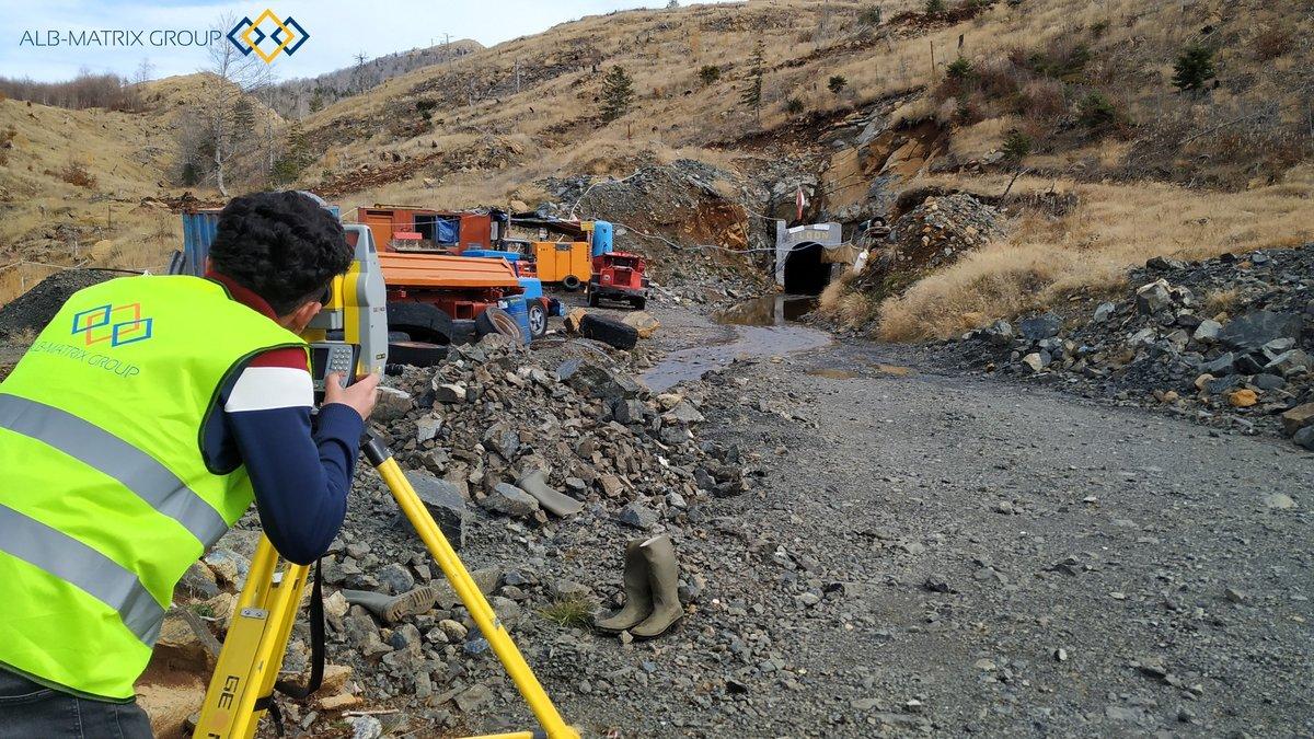 Underground and Open-Pit Mining Surveying Albania