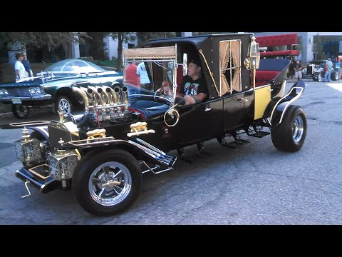 Famous Movie & TV Cars Static and On the Move!