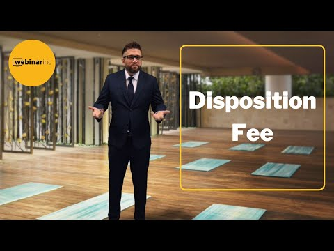 Car Sales Training - Disposition Fee
