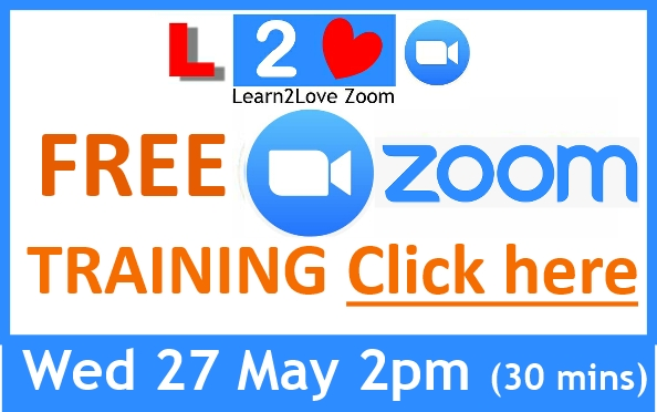 Zoom is Booming and here to stay. Get up to speed fast with using this powerful platform for meetings, training and networking events