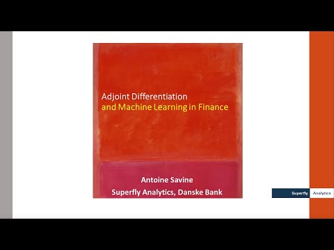 AAD & Backpropagation in Machine Learning and Finance, Explained in 15min -- Antoine Savine