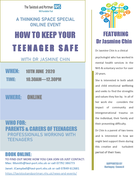 HOW TO KEEP YOUR TEENAGER SAFE - Haringey Thinking Space