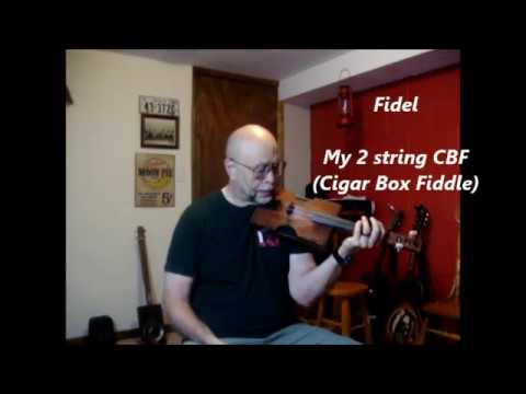 2 String Waltz on a fiddle name Fidel.