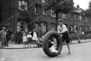 Kids Playing on Nightingale Lane by South View Road,1931