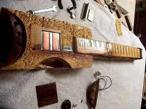 Cherry Lap Steel #2 - Assembling