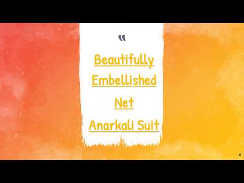 How to style salwar Kameez for Party, Amazing Party Wear Salwar Suits