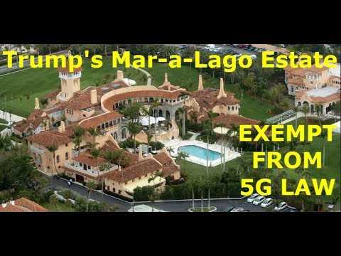 "Palm Beach Exempt From 5G Wireless Law; ""The Law Doesn't Apply To Us,"" The Rich"