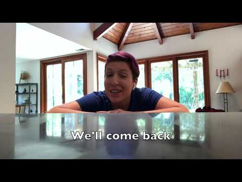 Almond We'll be back subtitled trimmed