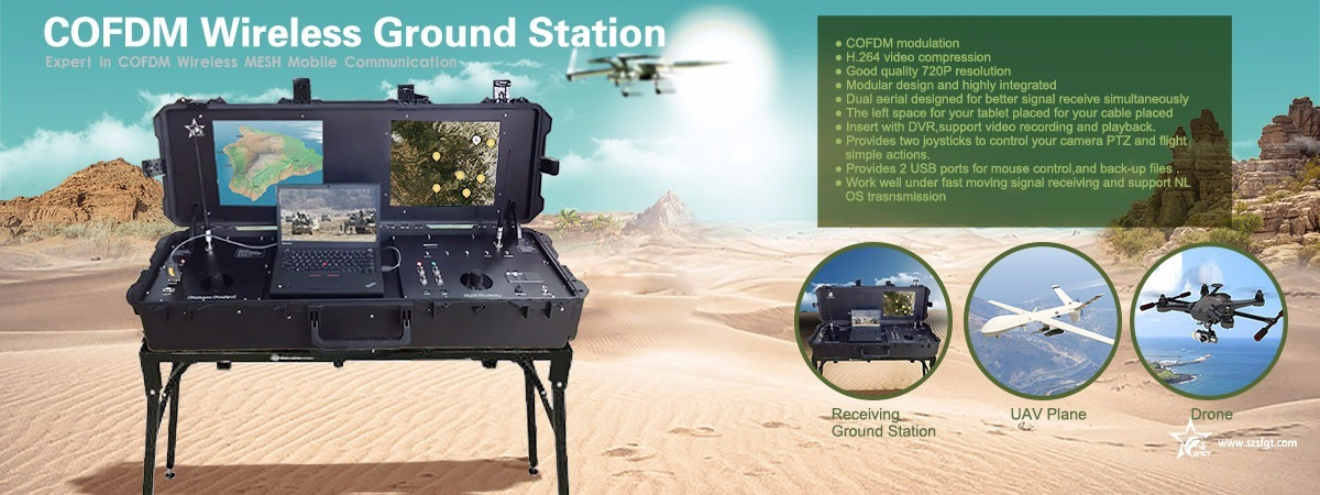 long range drone ground control station