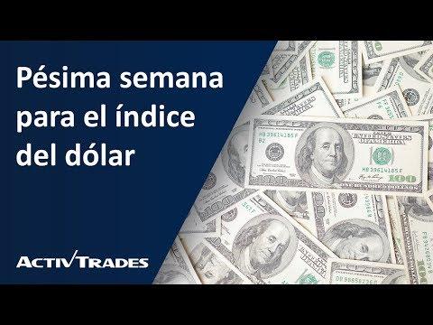 Video Análisis: Pésima semana para el índice del dólar
