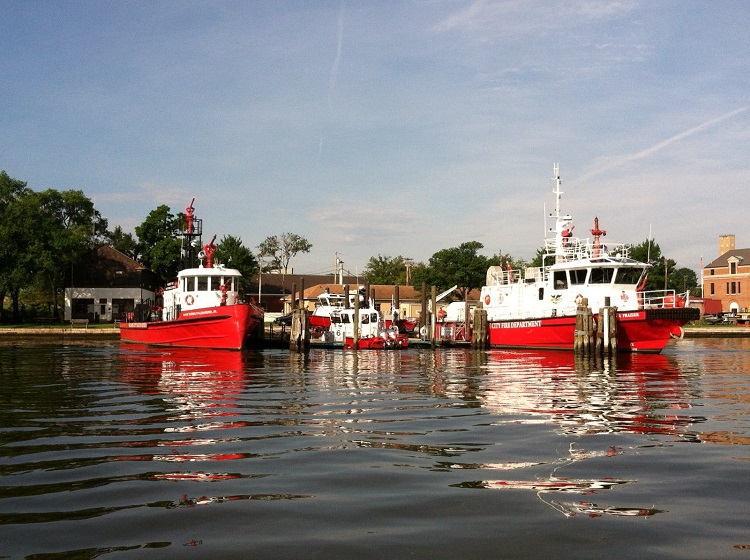 Baltimore Fire Boats