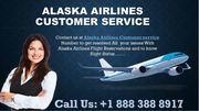 Alaska Airlines Customer service +1888 388 8917