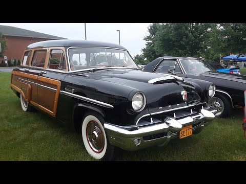 1953 Mercury Monterey Station Wagon  The Last Of the Woodies