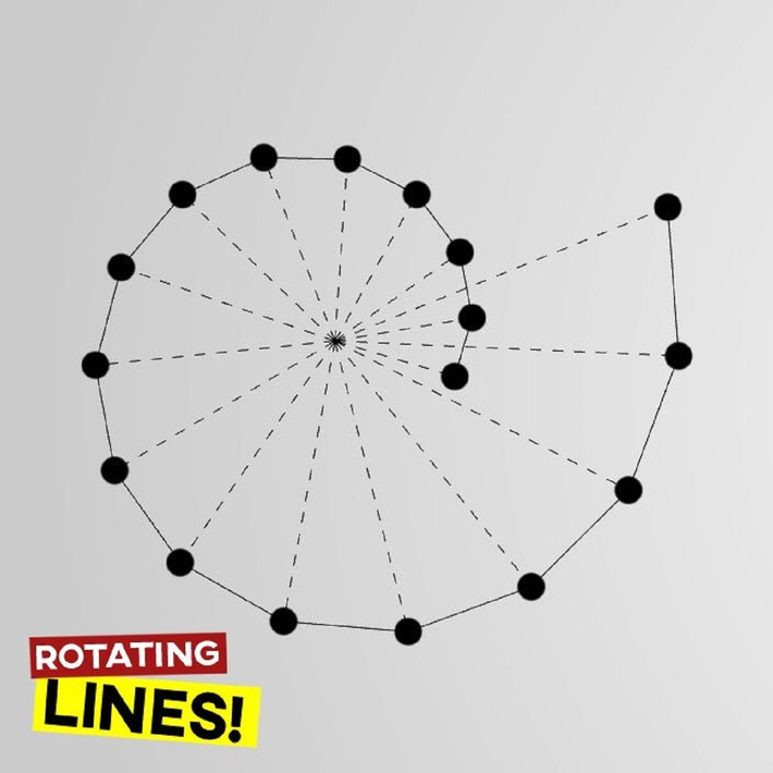 Rotating Lines