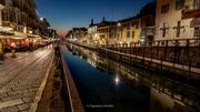 Milano - Naviglio Grande di sera