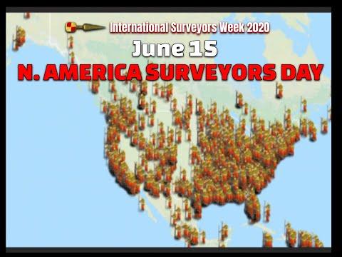 North American Surveyors Day June 15 #ISW2020 International Surveyors Week