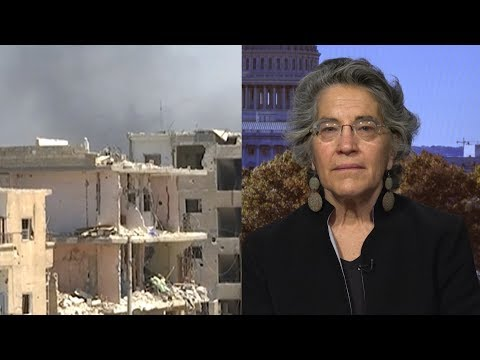 The Bombings Will Continue: Phyllis Bennis Warns U.S. Military Role in Syria Is Not Actually Ending